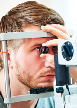 Exames oftalmológicos em Joinville